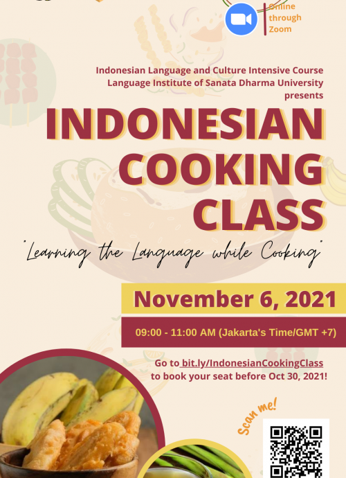 INDONESIAN COOKING CLASS
